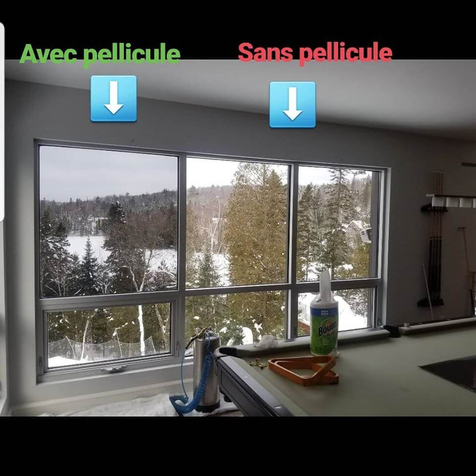 Solar window film that reduces heat