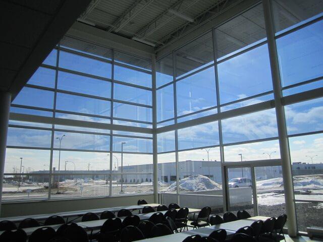 Interior sun control film that cuts UV rays and glare
