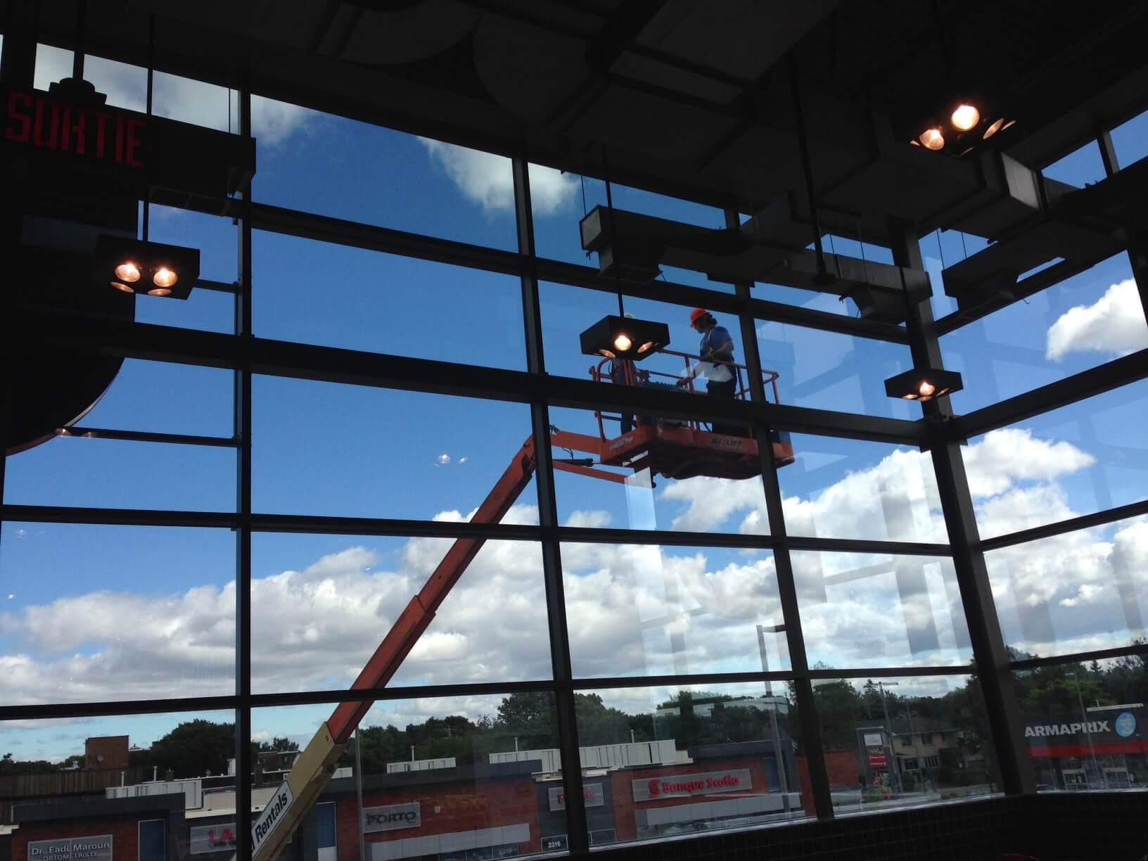 Clear Prestige exterior window film that cuts the heat