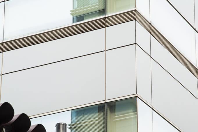 Pellicule DI-NOC de revêtement extérieur sur panneaux  tympans